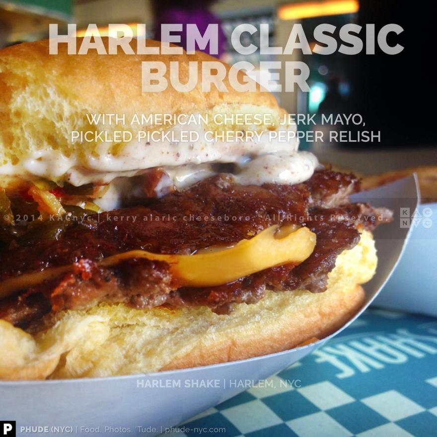 Harlem Shake Classic Burger
