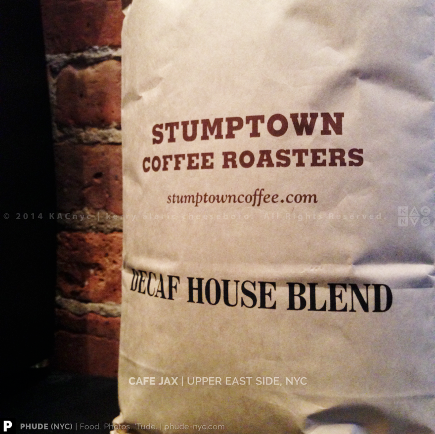 Stumptown Coffee | Cafe Jax