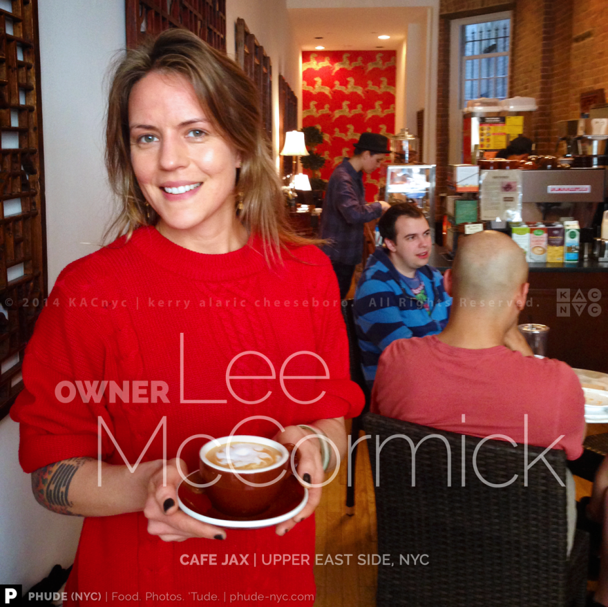 Owner Lee McCormick | Cafe Jax