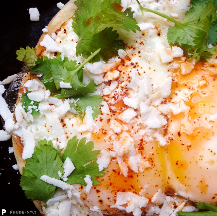Tortilla Egg Toast