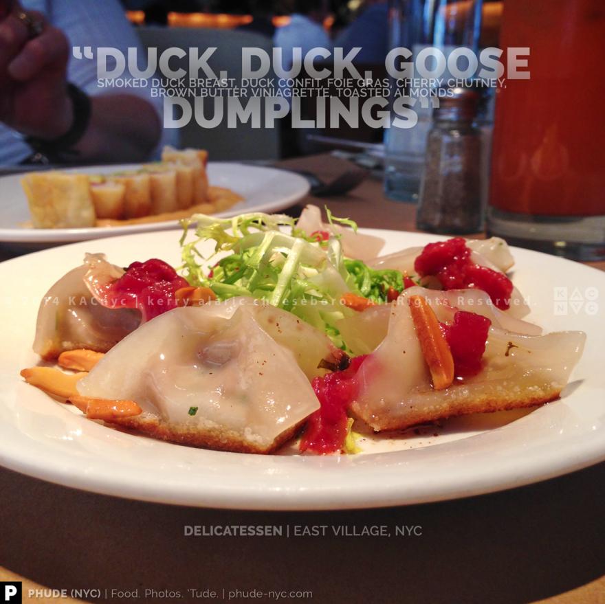 Duck Duck Goose Dumplings