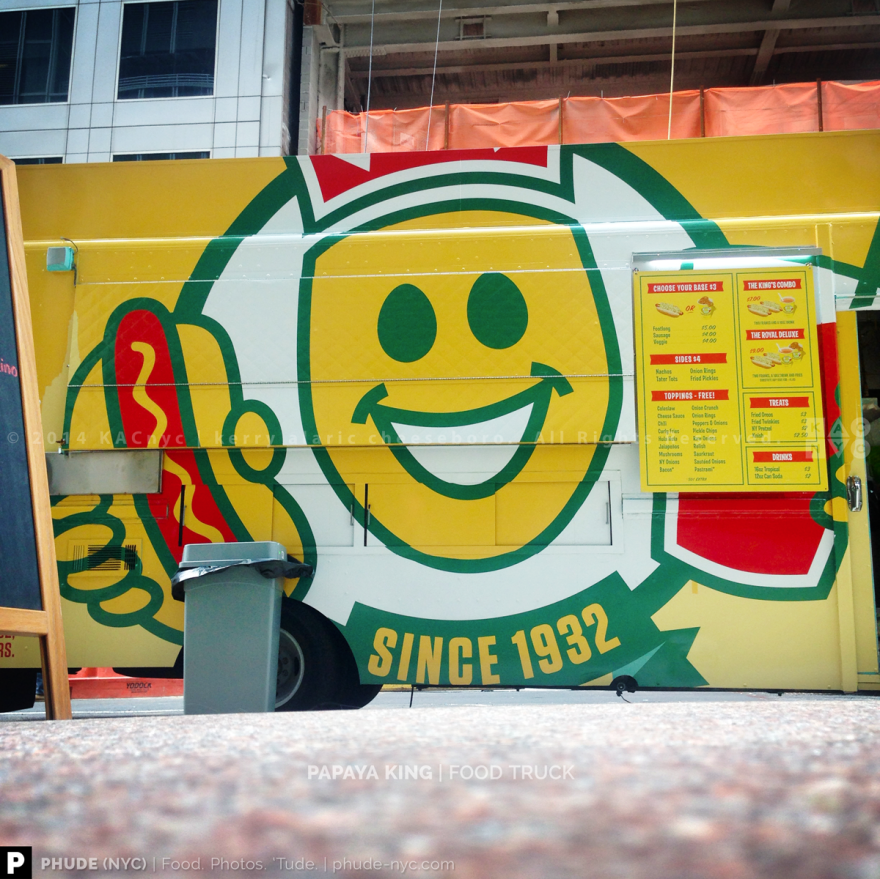 Papaya King Truck
