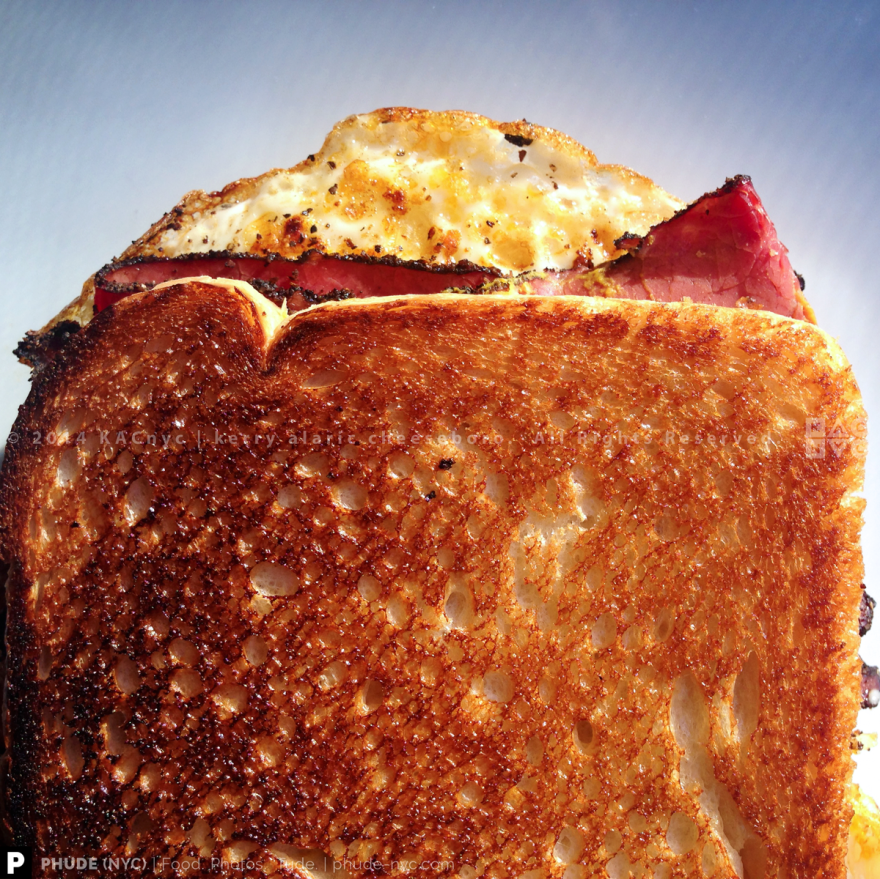 Egg + Pastrami Sandwich