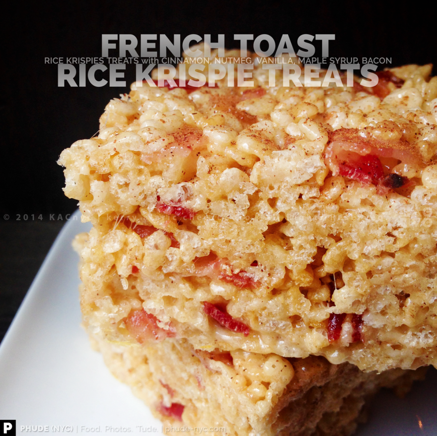 French Toast Rice Krispies Treats