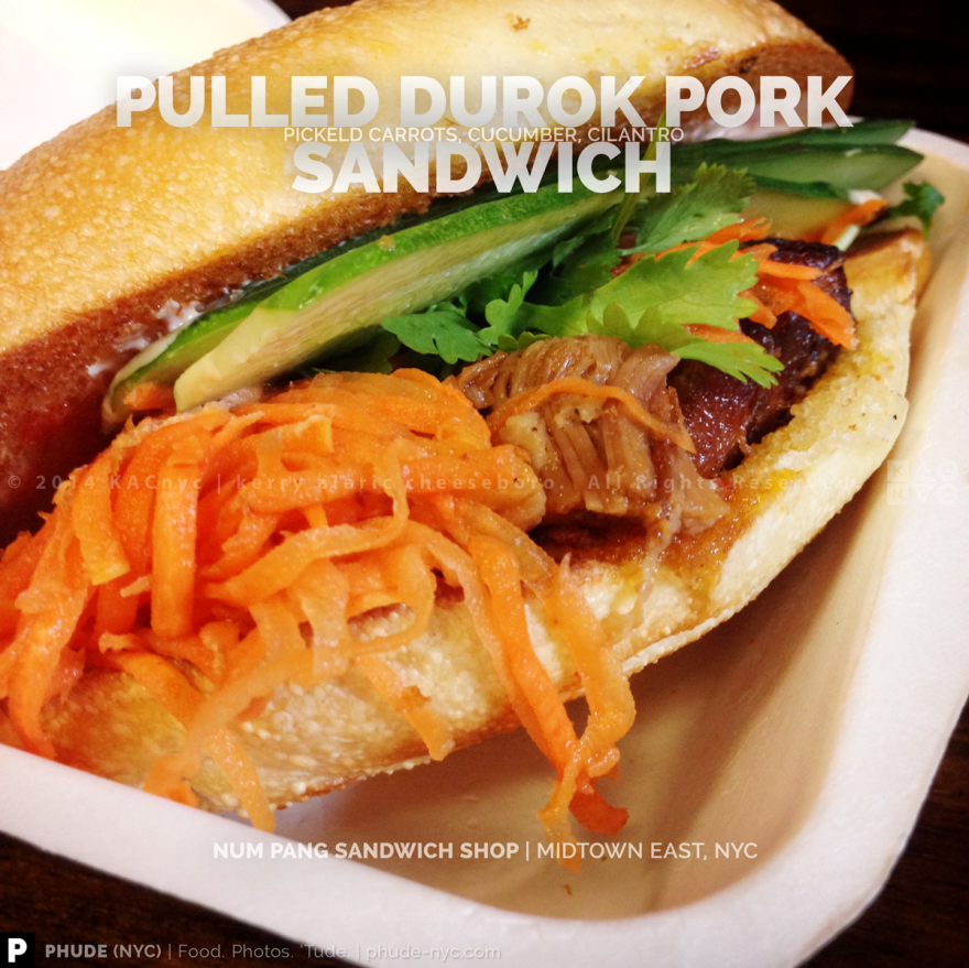 Pulled Durok Pork Sandwich