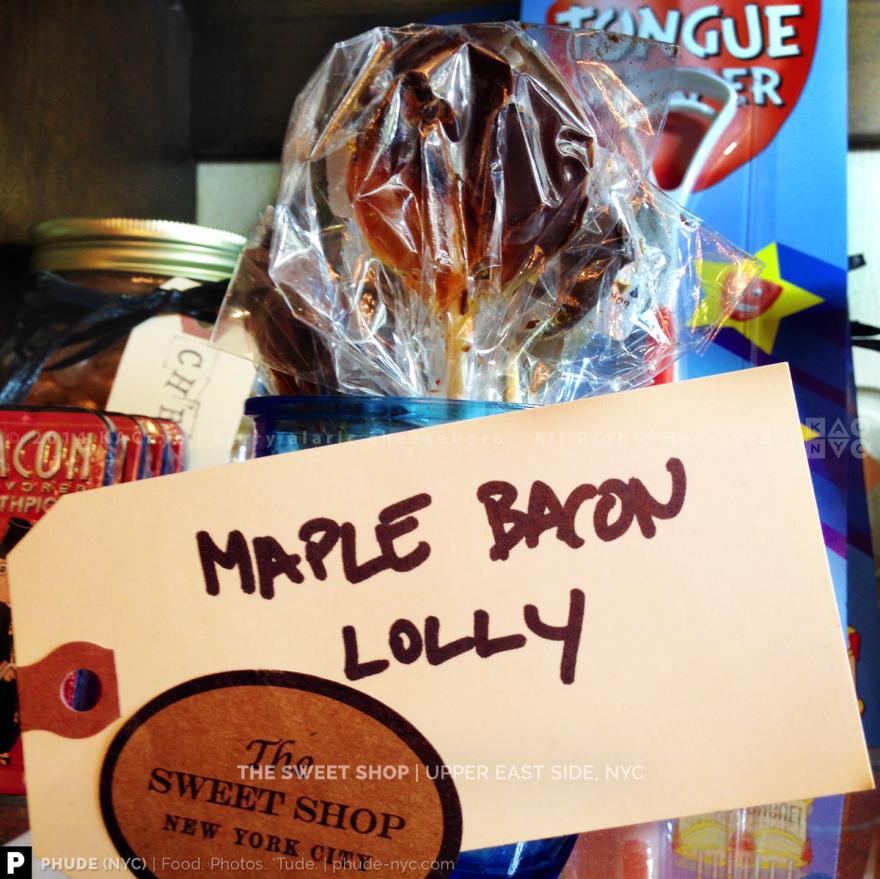 Maple Bacon Lollipop