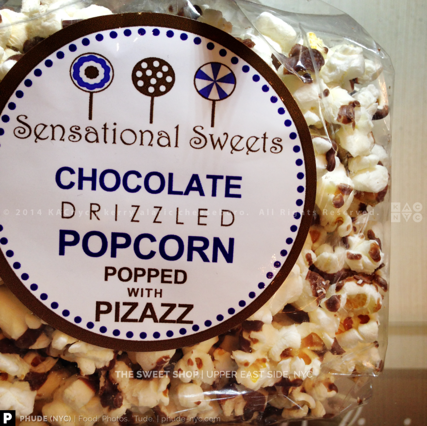 Chocolate-Drizzled Popcorn