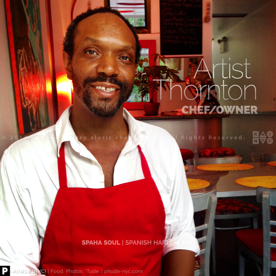 Chef/Owner Artist Thornton