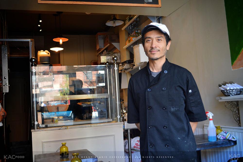 Raclette Owner/Chef Edgar Villongco