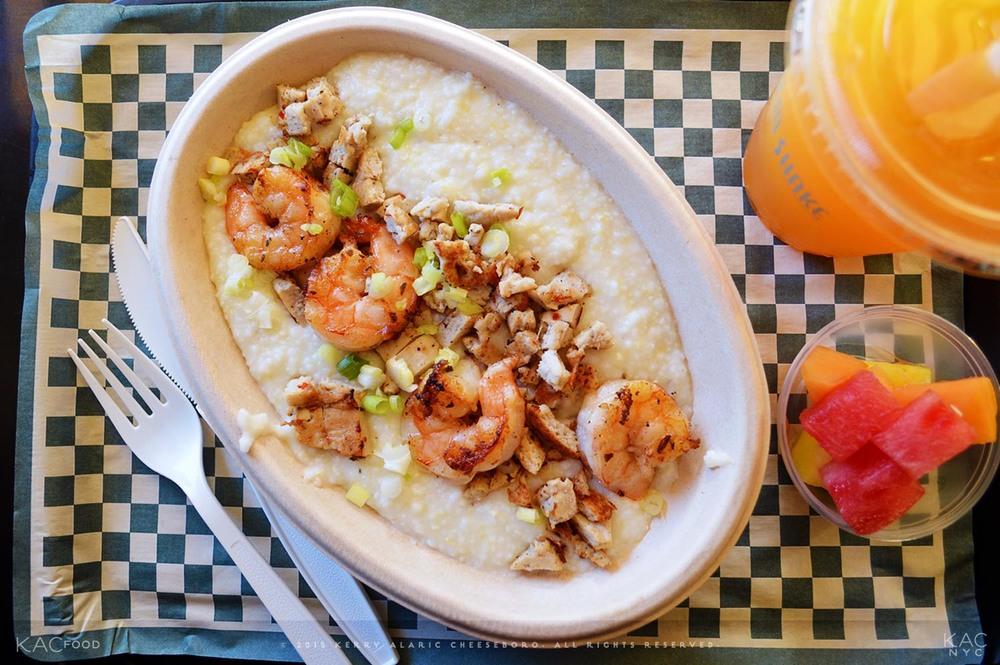 Shrimp & Sausage Grits   Harlem Shake   Harlem, NYC