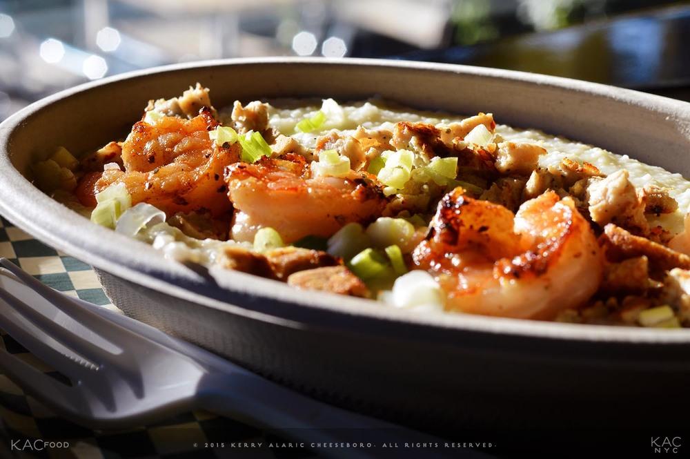 Shrimp & Sausage Grits | Harlem Shake | Harlem, NYC