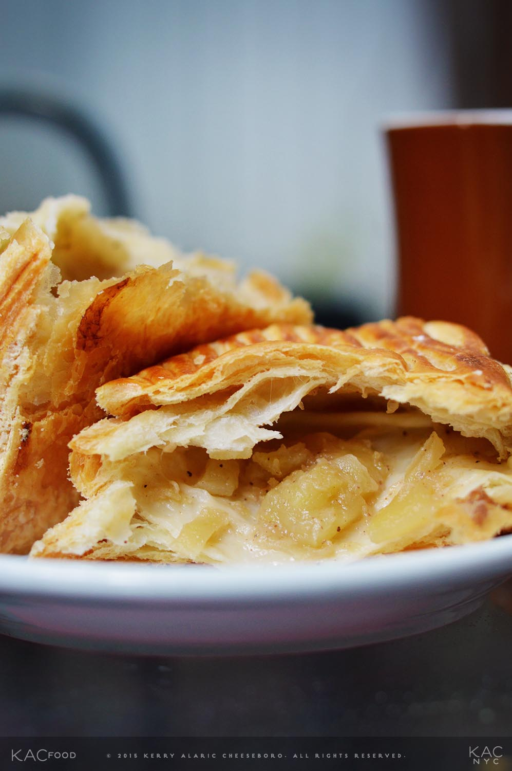 Chaider (Chai Apple Cider), Apple Turnover | Cafe Jax | Upper East Side, NYC