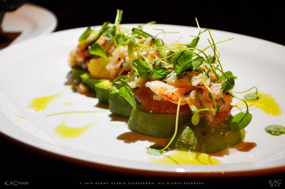 PEEKYTOE CRAB SALAD | Avocado, Citrus, Tarragon, Chili, Sea Salt, Olive Oil | SEAMSTRESS | Upper East Side, NYC