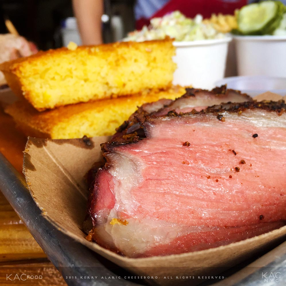 BEEF TRI TIP | Cornbread | FLETCHER'S BROOKLYN BARBECUE | Gowanus, Brooklyn, NYC