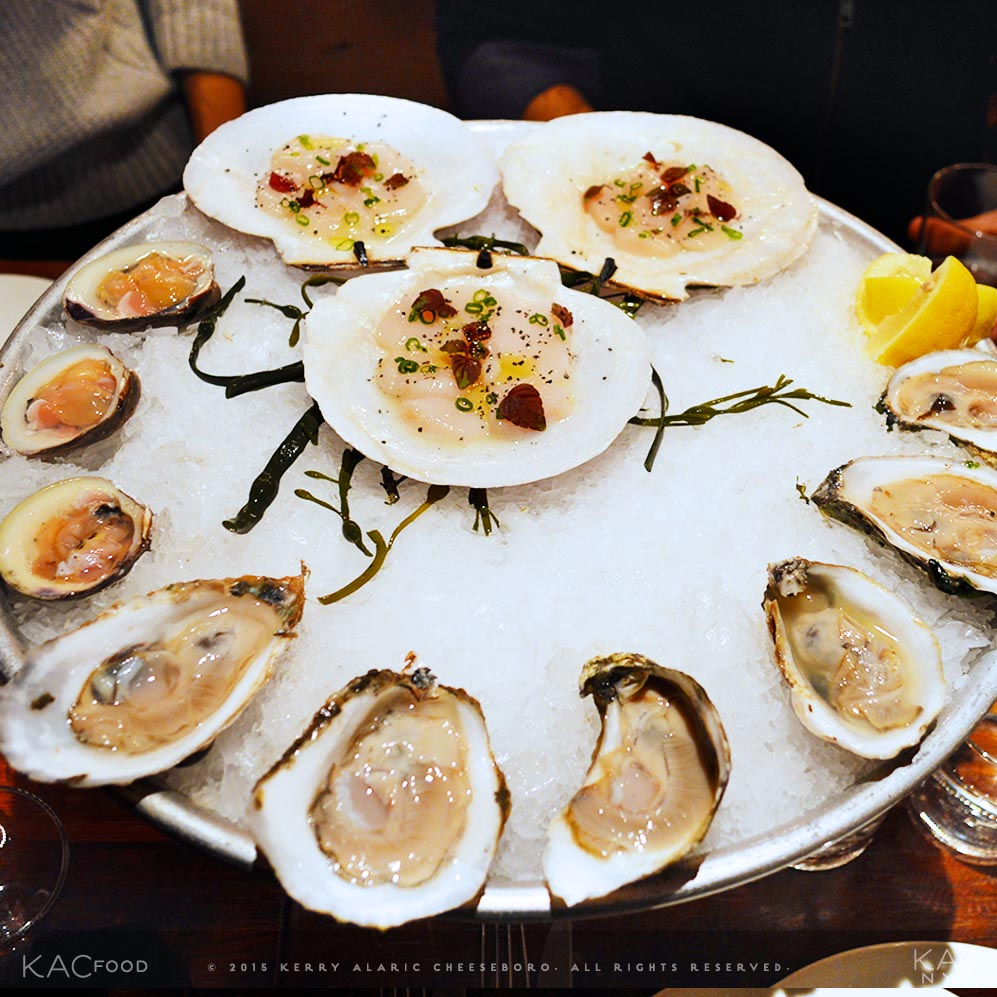RAW BAR SERVICE | Oysters, Clams, Sea Scallops | CULL & PISTOL | Chelsea, NYC