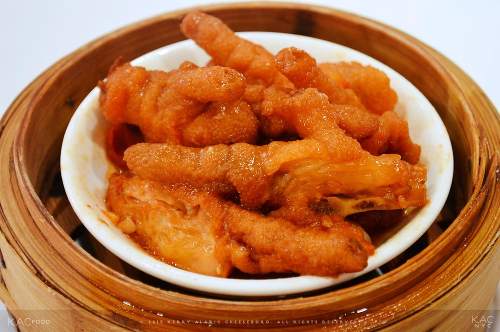 DIM SUM | Braised Chicken Feet | GOLDEN UNICORN | Chinatown, NYC
