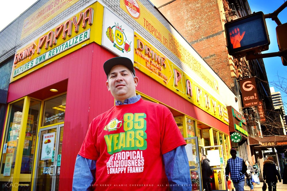 Wayne Rosenbaum, President of Papaya King