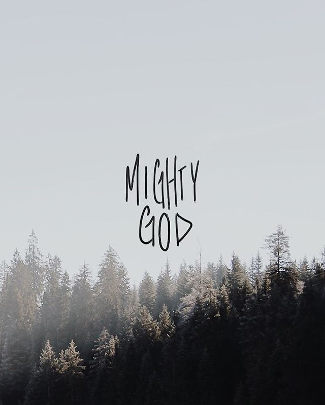 For to us a child is born, to us a son is given, and the government will be on his shoulders. And he will be called Wonderful Counselor, Mighty God, Everlasting Father, Prince of Peace. - Isaiah 9:6⠀ ⠀ In Isaiah's prophesy about Jesus, He said that the coming Messiah will be called Mighty God.⠀ ⠀ And He is mighty. Jesus performed many miracles during His time on Earth. Fed thousands with only a minuscule amount of food, walked on water, healed the sick, and even brought a man back from the dead! His might and power is quite evident.⠀ ⠀ Also evident is that while He is the Son of God, Jesus is God. Our wonderful, powerful, and mighty God!⠀ ⠀ In the beginning was the Word, and the Word was with God, and the Word was God. He was with God in the beginning. Through him all things were made; without him nothing was made that has been made. The Word became flesh and made his dwelling among us. We have seen his glory, the glory of the one and only Son, who came from the Father, full of grace and truth. - John 1:1-3;14⠀ ⠀ Devotion + Design by @mrsalexaeby #VRSLY #madewithVRSLY #VRSLYdevotional