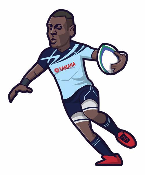Dinesvaran Krishnan in cartoon form courtesy of our good friends from Tackle.