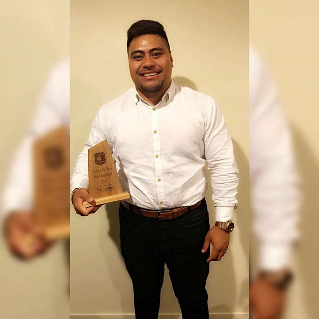Congratulations to Feta Luamanu who was named Counties Manukau 'B' Most Improved Player for 2017. Fantastic reward for the ever hard-working Feta. Love your work! #FetaLuamanuGCPSport #GCPWolfPack #GCPSportFamily #TRAINHARDTRAINSMART 📷: Anastasia Lee Gray