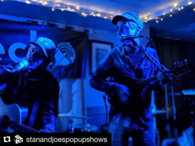 Truly played a pop-up show at @stanandjoespopupshows last night