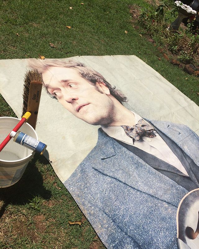 @greyfoxbluegrass friends, we need your help!  While we had a blast at the festival this weekend, our beloved @christhile tarp has gone missing. It was last seen folded up and ready for load out near the main stage around 1-2pm on Sunday, 7/22/18.  We've been bringing this tarp to the festival for several years now and were hoping to keep the tradition alive in the years to come. We understand how chaotic packing up and loading out can be (especially in the rain), so it's possible that someone scooped up the folded tarp thinking it was theirs. If you, or someone you know, has any information on the whereabouts of this tarp please send an email to ampersandstringband@gmail.com. Additionally, feel free to share this post with your friends/followers and help spread the word. We'd love for Thile to make his way home so that he can see many more years of Grey Fox festival fun.