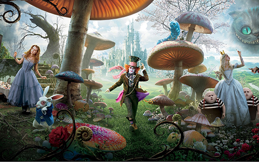 alice-in-wonderland-theme-party-team-meeting