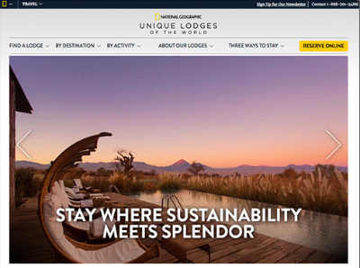 national geographic unique lodges around the world online resource
