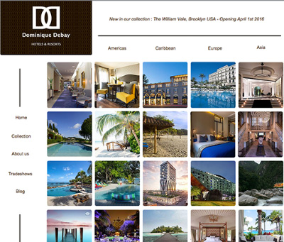 Find really cool boutique hotels with online tool