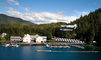 alaska great fishing resort for meetings