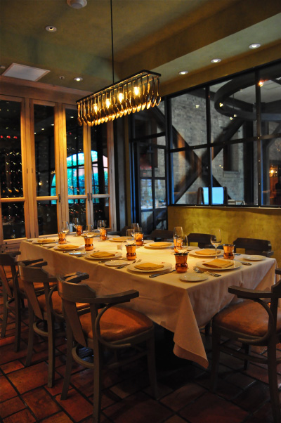 holiday dining yountville