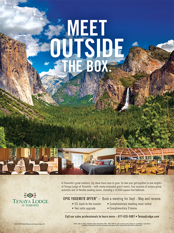 meet outside the box in yosemite