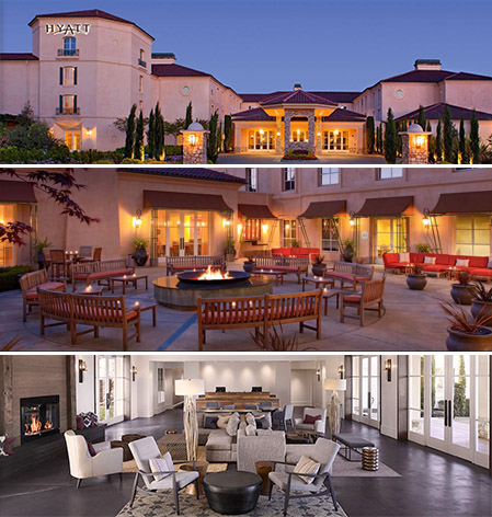 hyatt regency sonoma county good for meetings