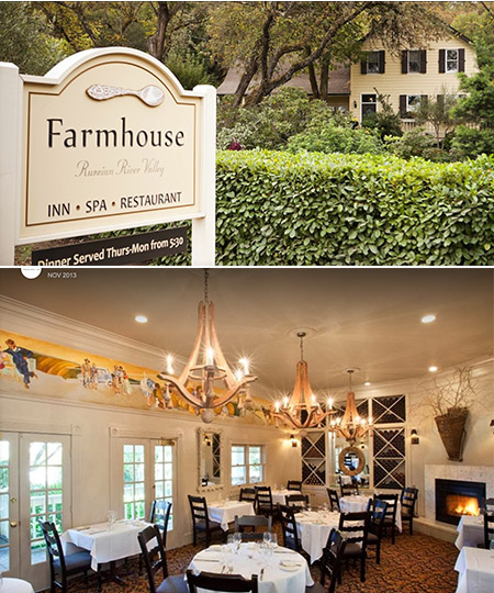 farmhouse inn sonoma small boutique hotel
