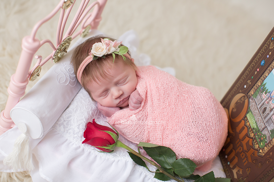 disney sleeping beauty photo for newborn