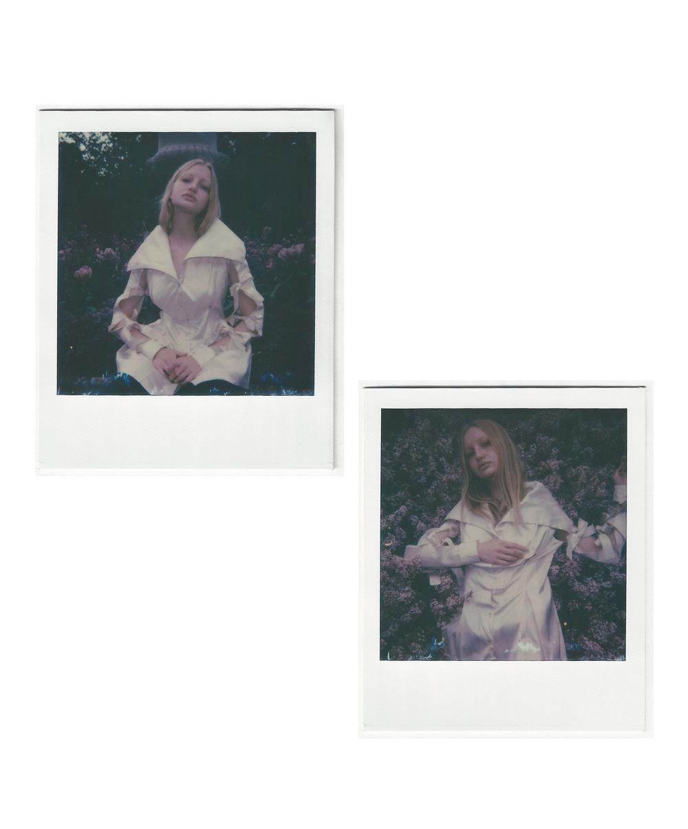 Pauline wearing  Doruntina Azemi    Wonderwall Milano , Izaio Berlin ,  Trend Barcelona ,  Models1 London ,  2 Model LA   london '17