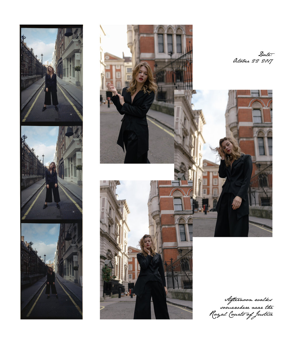 Vjosa  in  Doruntina's  Love Collection  London '17