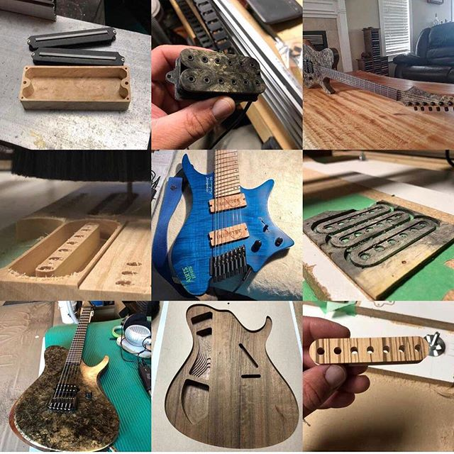 Here's my Instagram top 9 everyone! Thanks for all the interest and support! Happy new year and looking forward to 2019!! #triadguitars #top9of2018