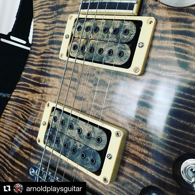 Go subscribe to Arnold on YouTube so you don't miss this pickup review video! . #Repost @arnoldplaysguitar with @get_repost ・・・ Hallelujah!!! Actual progress made today as the gremlins must be asleep! @triadguitars Nemesis humbuckers have an #unbiasedgearreview coming shortly. #Pickups #Humbuckers