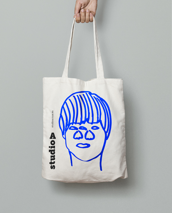Thom Roberts Tote Bag, designed in collaboration with Boccalatte.
