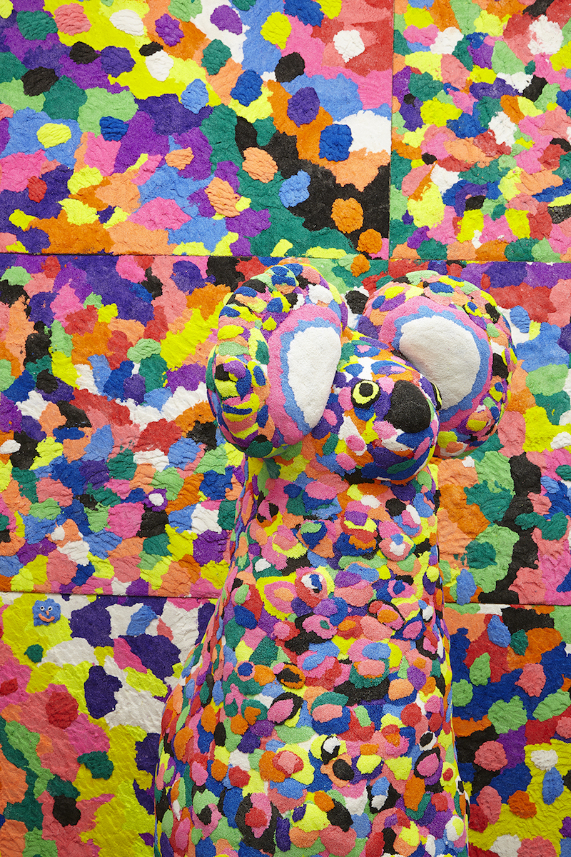 Rosie Deacon,Fun Foam Fantastical-Fabulous Fun,2015, installation made from fun foam, dimensions variable