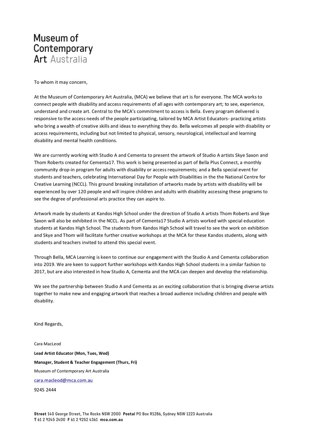 Letter of Support Studio A Cementa Jan 2018_MCA.jpg