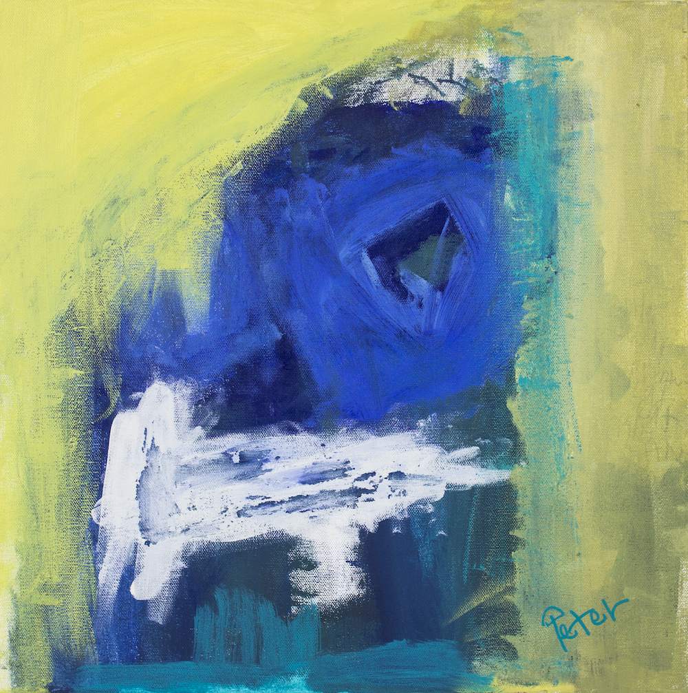 Gemma, 2018, acrylic on canvas, 30.5x30.5cm