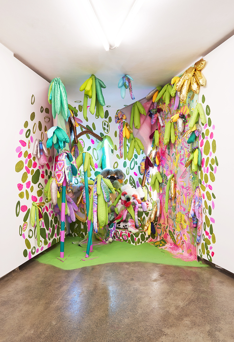 An installation created by Emily and her collaborator, Rosie Deacon for  Paired  at Firstdraft, curated by Harriet Body.