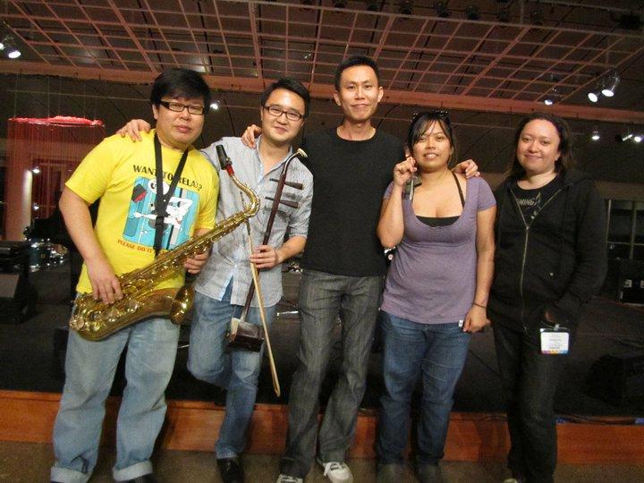 Musicians: Tze Toh, Dai Da, Jennifer Ng, Boon Chye