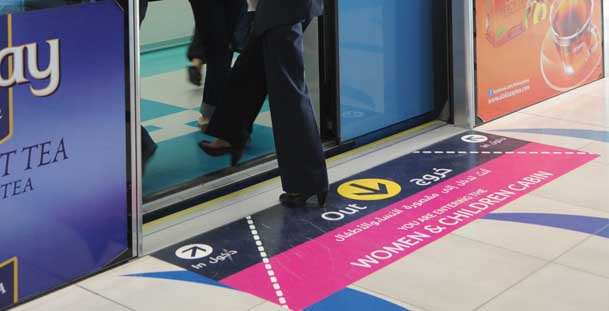 Dubai Metro Women & Children Section