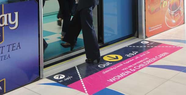 dubai travel guide - Dubai Metro Women & Children Section