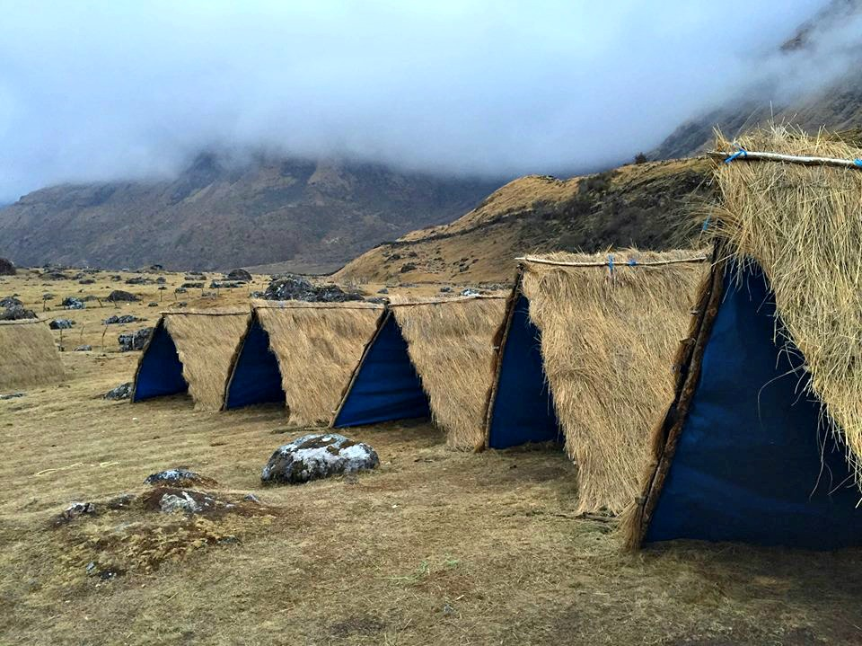 teepees (tents)