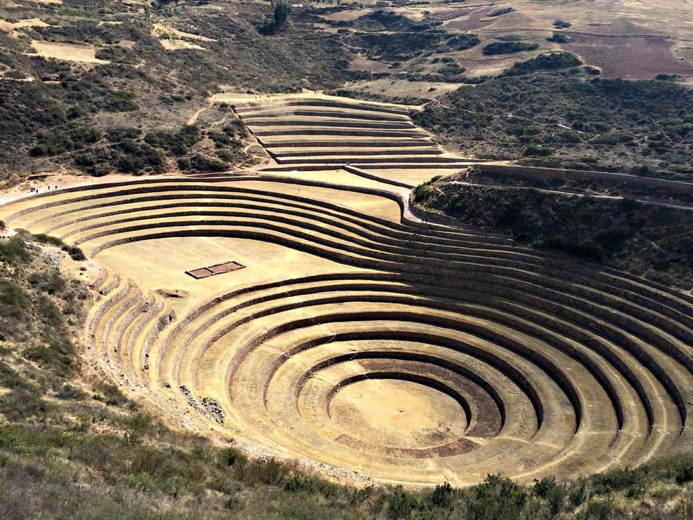 Moray in the sacred valley