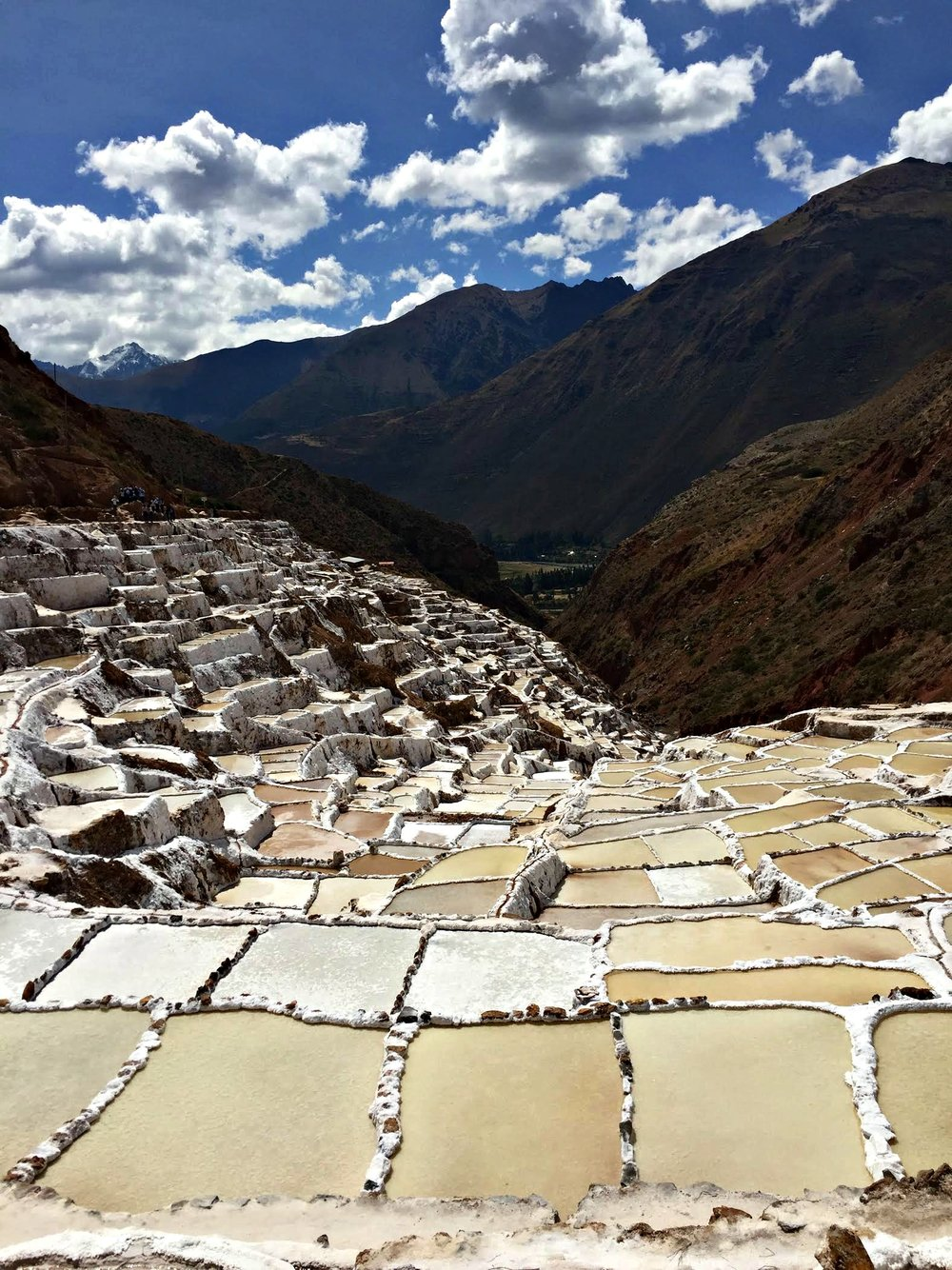 Salinas in the sacred valley